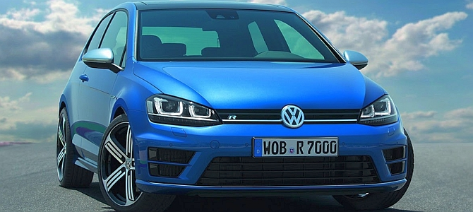 Volkswagen Golf R: за 5 секунд до 100 км/ч?