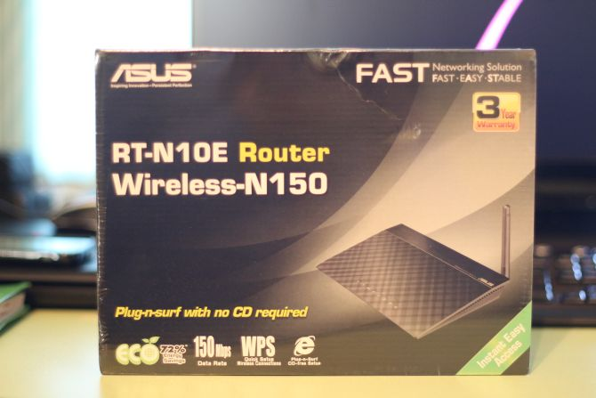 Маршрутизатор Asus RT-N10E