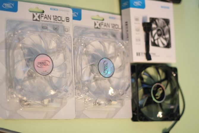 DeepCool X-FAN 120 L/B (2 шт.) DeepCool Ice Blade Fan