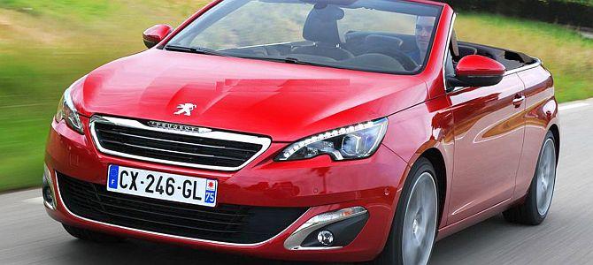 Новый Peugeot 308 CC: в 2014 году можно будет купить этот кабриолет