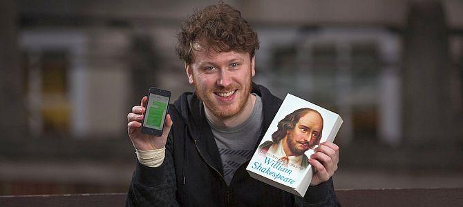 Эдд Джозеф уместил 22 пьесы Шекспира в 18 000 СМС!