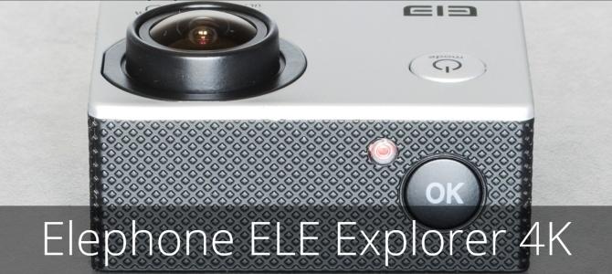 ПОДРОБНЫЙ ОБЗОР экшн камеры Elephone ELE Explorer 4K: УБИЙЦА GoPro, Xiaomi Yi, SJCAM и Eken?