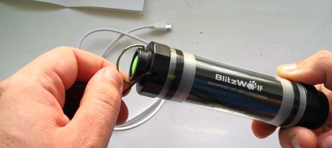 BlitzWolf BW-LT5 ► ОБЗОР крутой лампы для походов