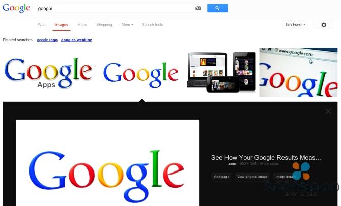 Поиск картинок Google теперь быстрее и удобнее