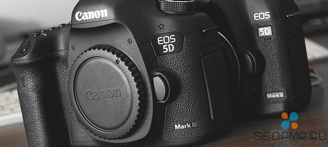 Canon EOS 5D Mark III: моя любимая полнокадровая камера!