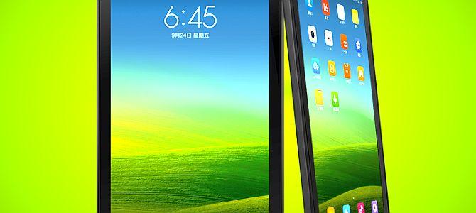 Планшет Xiaomi MiPad можно будет увидеть уже через 2-3 недели?